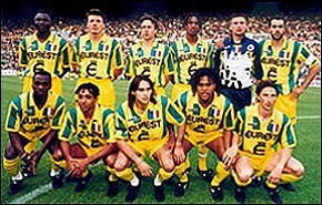 FC Nantes champion de France 1994-95